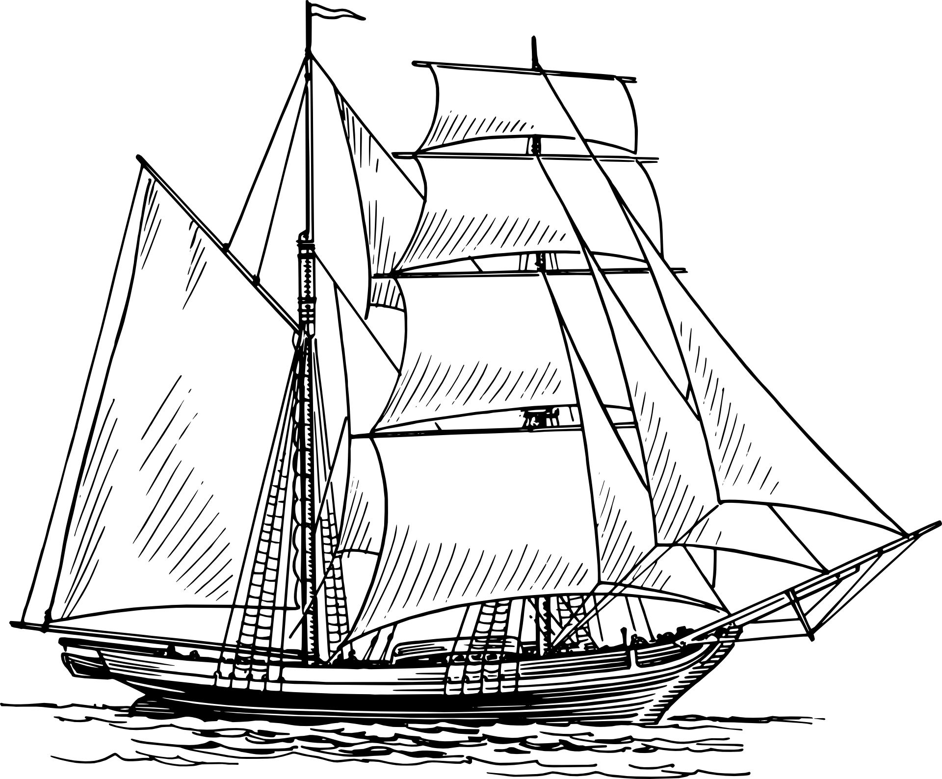 Boat clipart old fashioned. Historical sailing ships and
