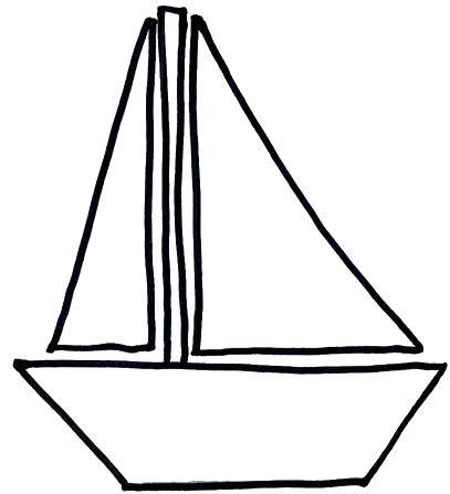 Pirate ship library clip. Boat clipart outline