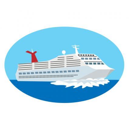 Boat clipart printable. Cruise ship clip art