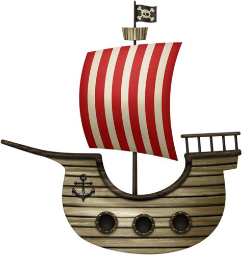 best pirate images. Boat clipart printable