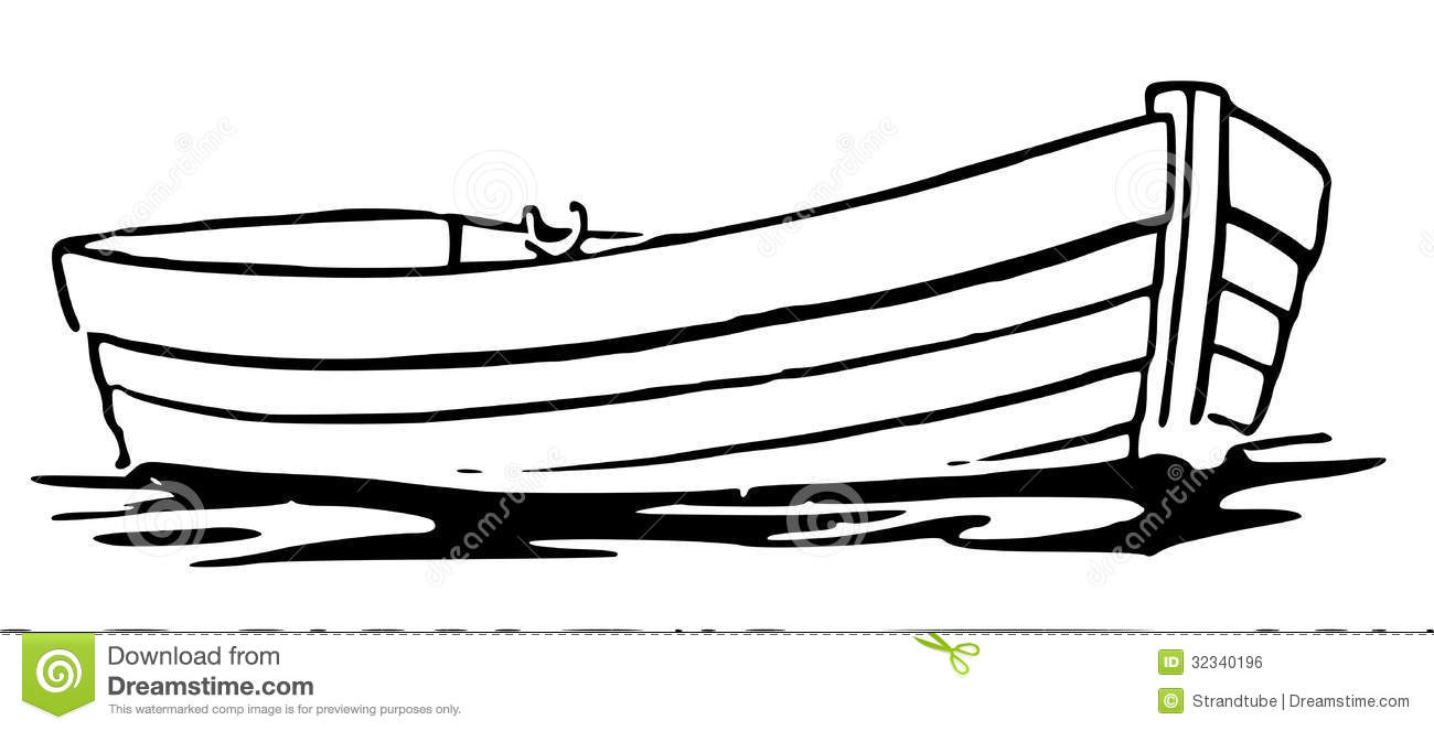 Boat clipart row boat. Silhouette at getdrawings com
