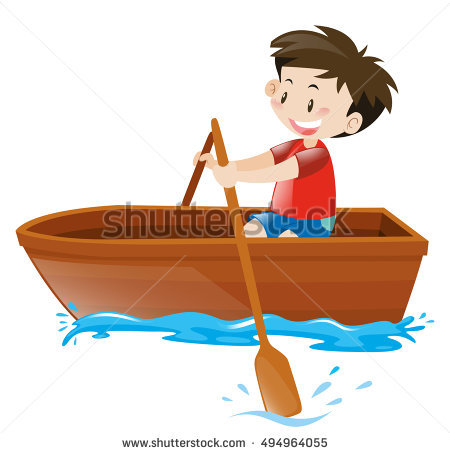 Boat station . Boating clipart row