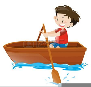 Cartoon boat free images. Boating clipart row