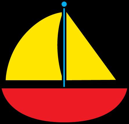 Boat clipart sailing boat. Sailboat clip art of
