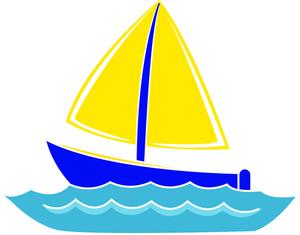Boat clipart sailing boat. Free sailboat image car