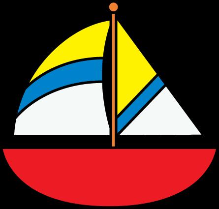 Free sail boat cliparts. Boating clipart sailboat