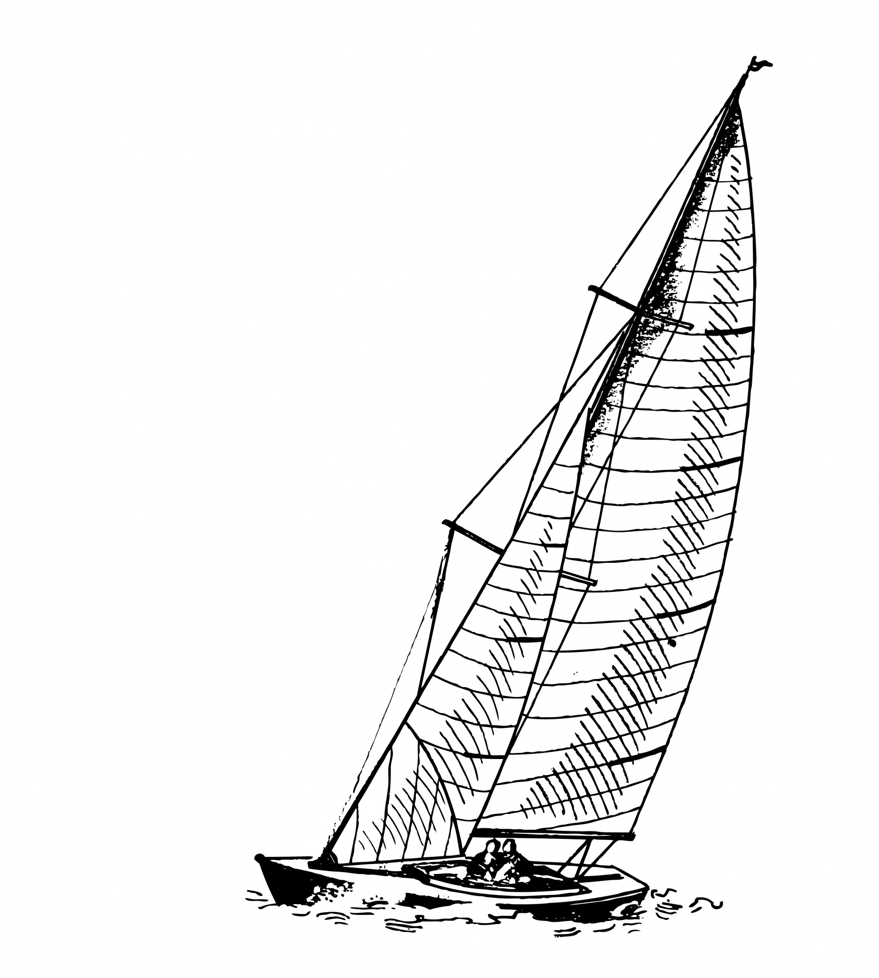 Boats clipart illustration. Sail boat free stock
