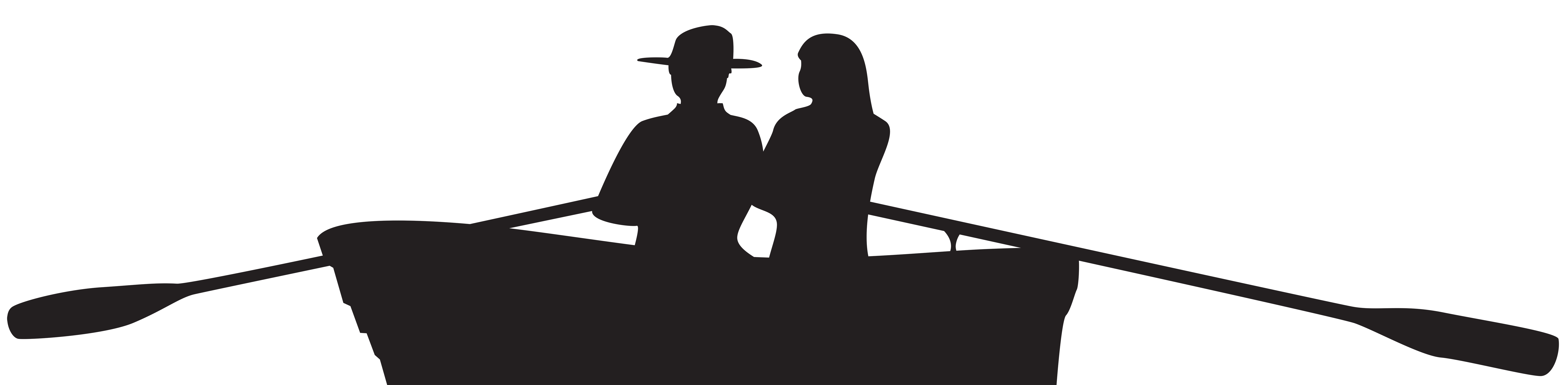 Clipart boat person. Couple on silhouette png