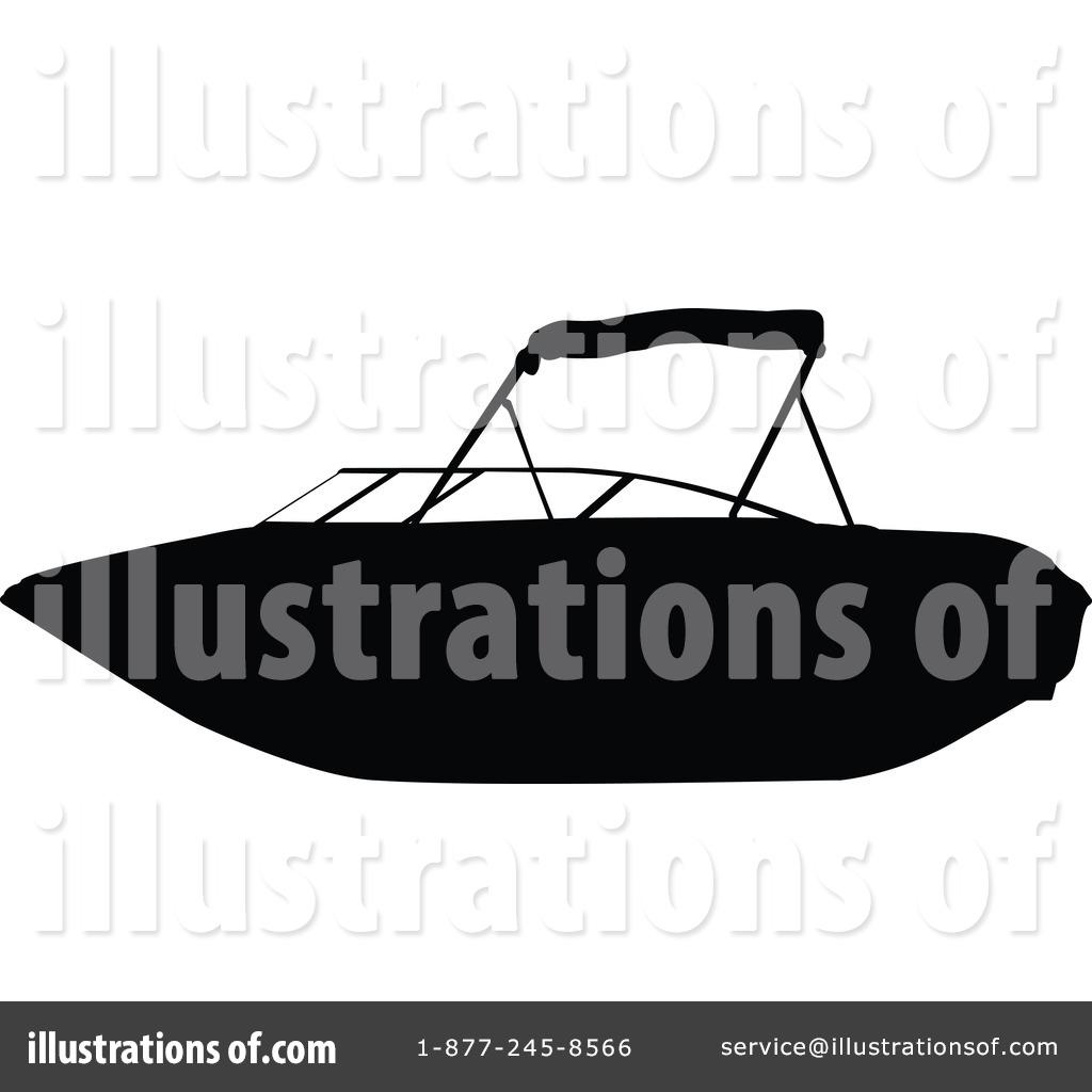 Illustration by jr royaltyfree. Boat clipart silhouette