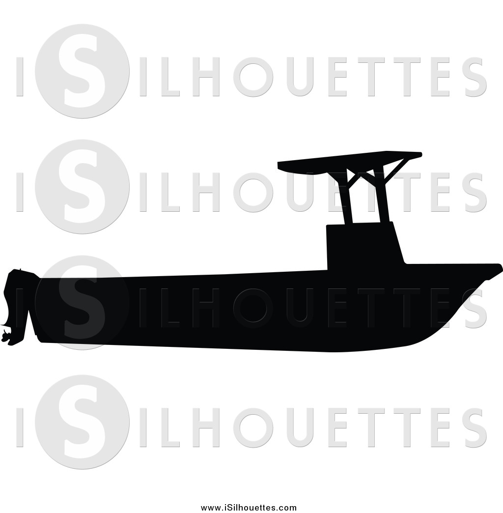 boating clipart silhouette