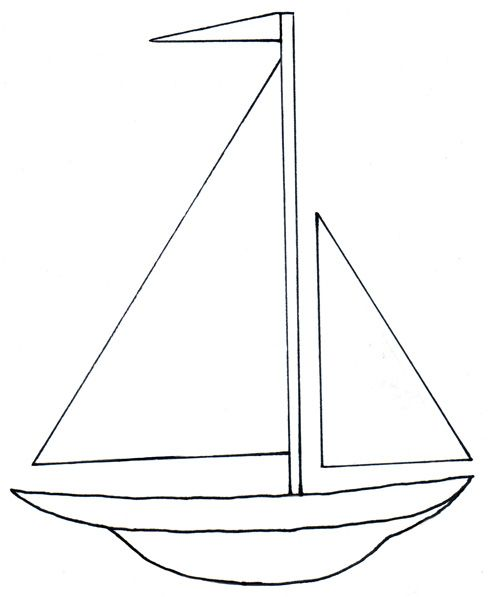 Go back gallery for. Boats clipart simple