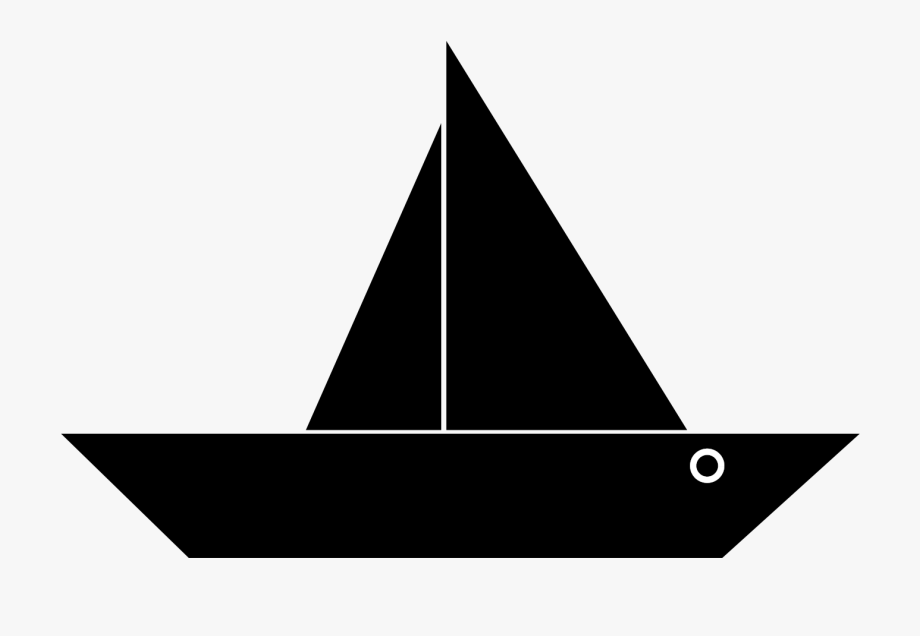 Boat black png free. Boats clipart simple
