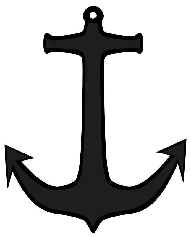 Anchor . Clipart boat simple