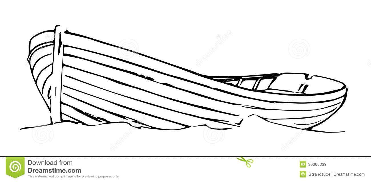 Boat clipart sketch. Wood row tattoo google