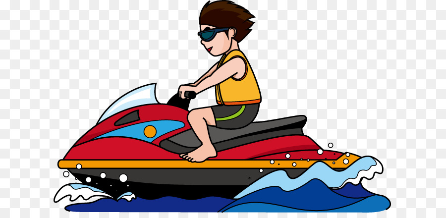 Boat clipart ski boat. Jet personal water craft