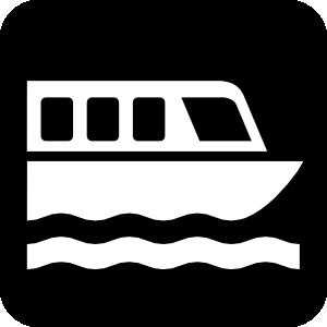 Boat clipart symbol. Map symbols clip art