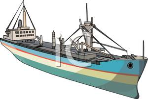 Boat clipart tanker. An oil royalty free
