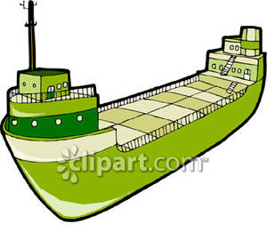 Boat clipart tanker. Green oil royalty free