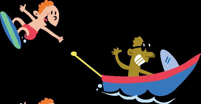 Logo . Boat clipart tubing