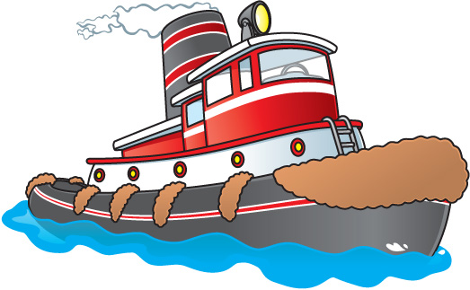 Boat tug pencil and. Boats clipart tugboat