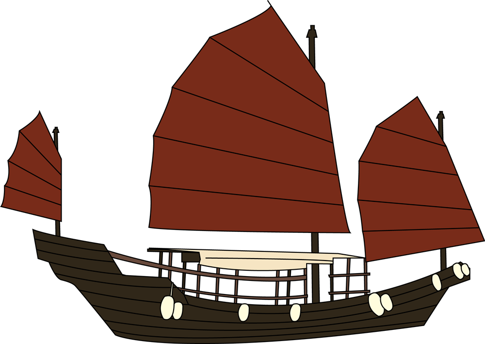 Boat clipart vector. Ship wooden free collection