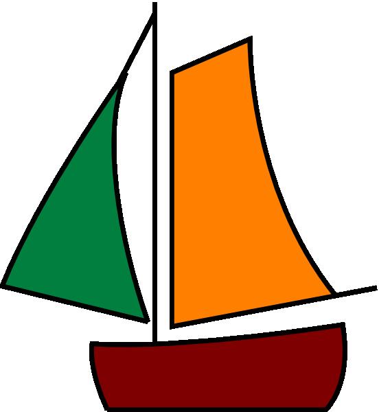 Sailing white clip art. Boat clipart vector
