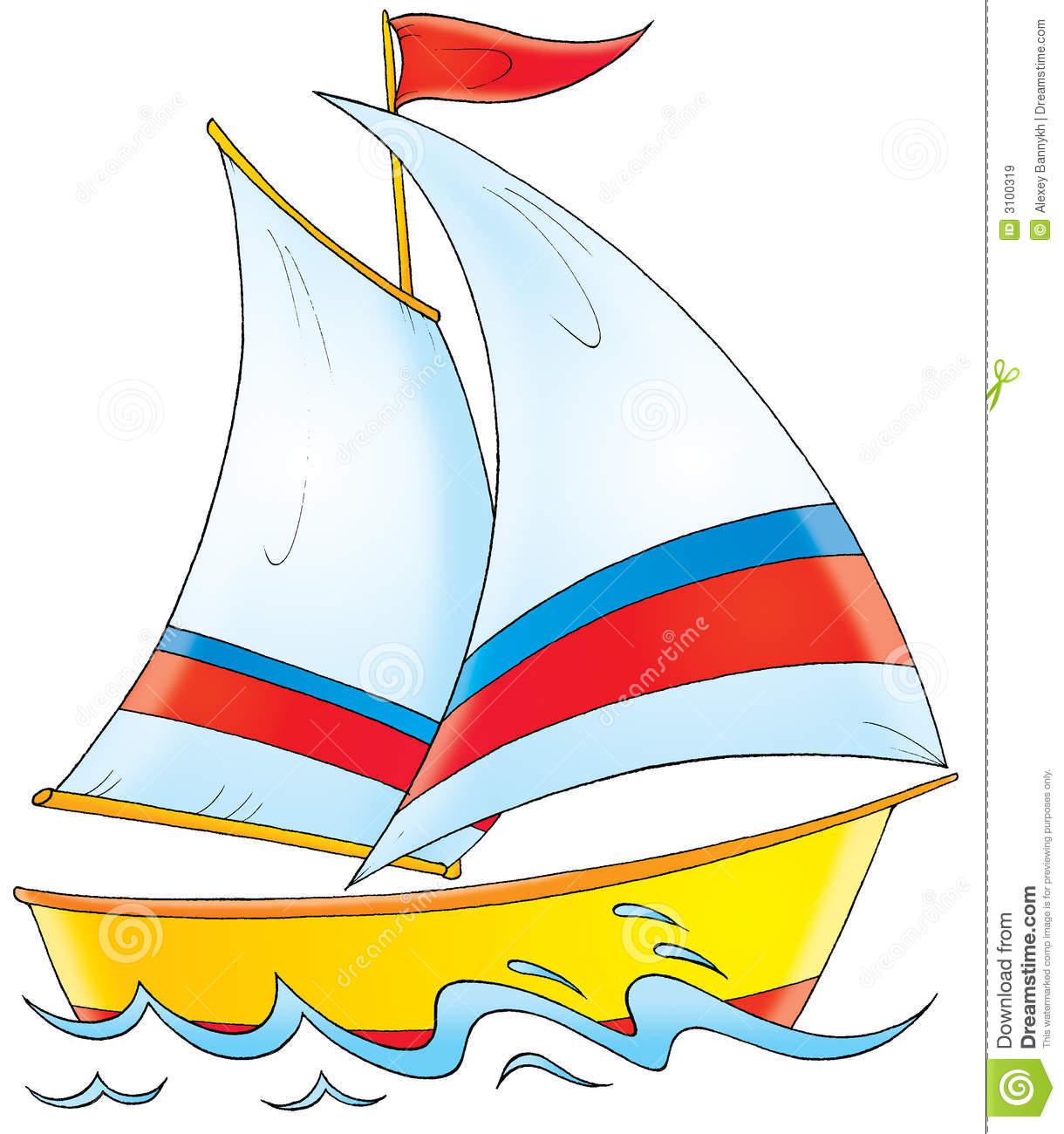 Yacht free clip art. Boat clipart vector