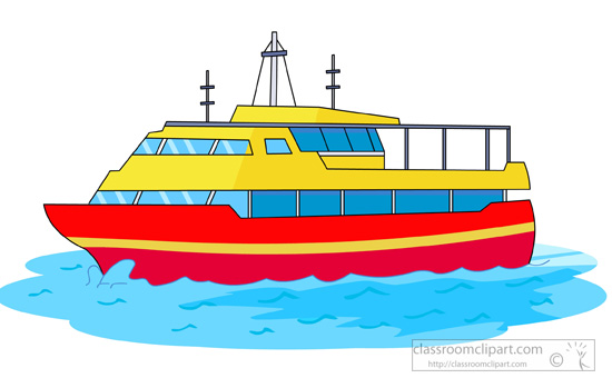 Transportation pencil and in. Boating clipart boat tour