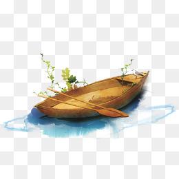 Boats clipart watercolor. Boat png vectors psd