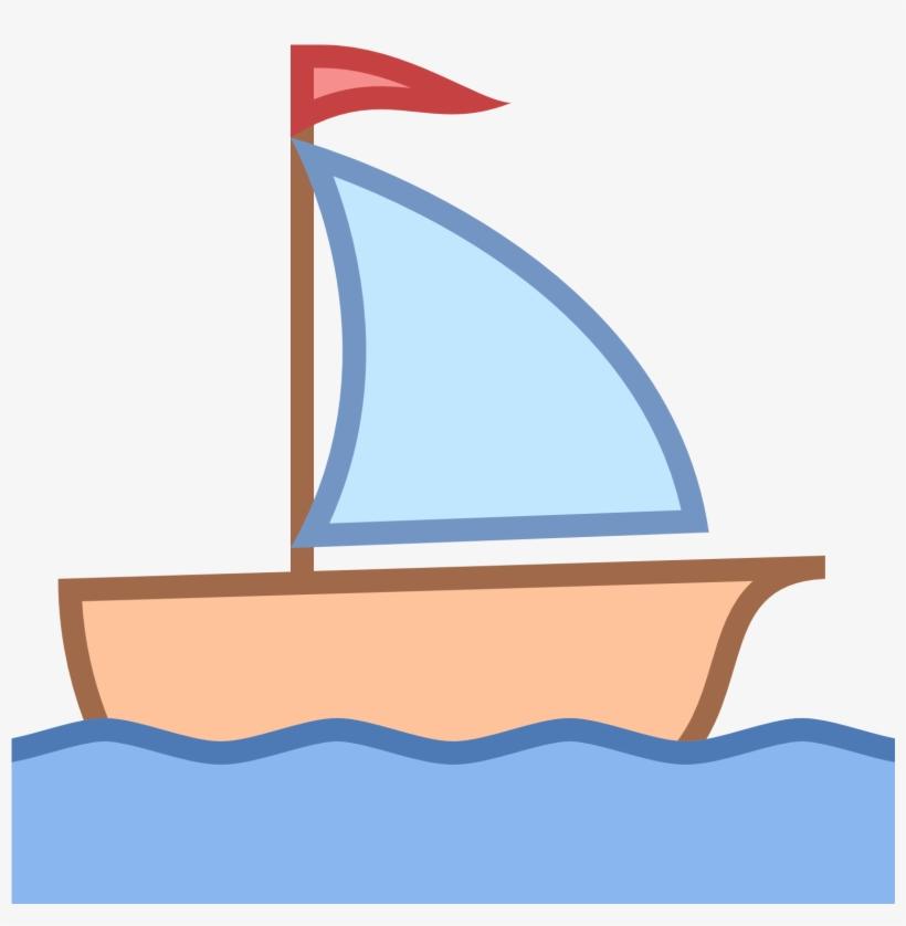 Sailboat sail vehicle sailing. Boat clipart watercraft