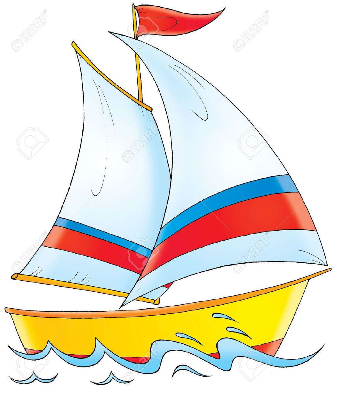 Boat clipart yacht.  clipartlook