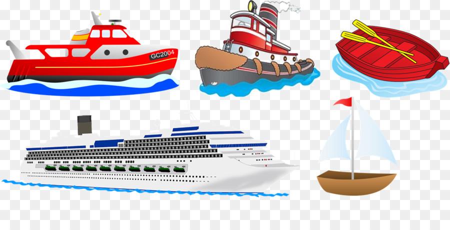 Cartoon ship sailboat transparent. Boat clipart yacht