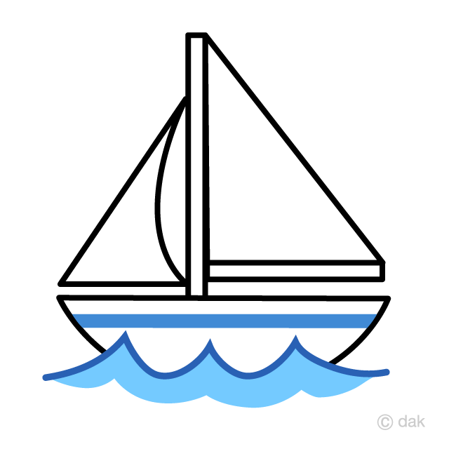 Cute free picture illustoon. Boat clipart yacht