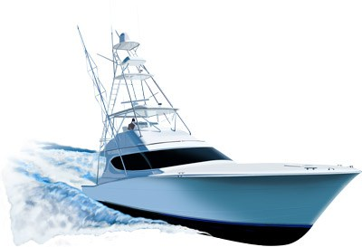 Boats clipart yacht. Hatteras ft yachtspirit graphix