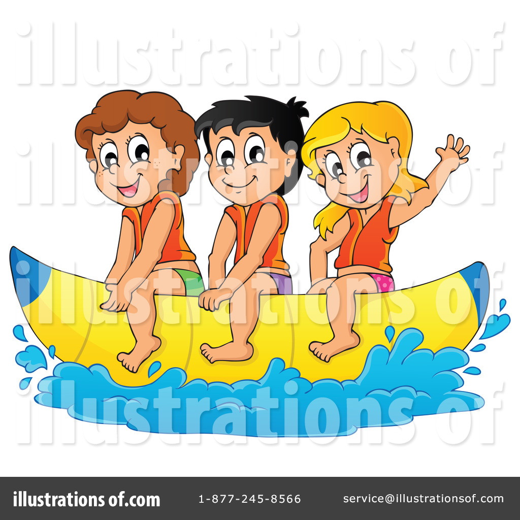Boating clipart. Illustration by visekart royaltyfree