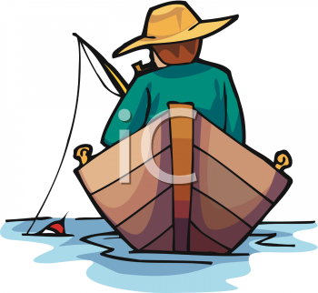 Boating clipart bass boat. Fishing silhouette clip art