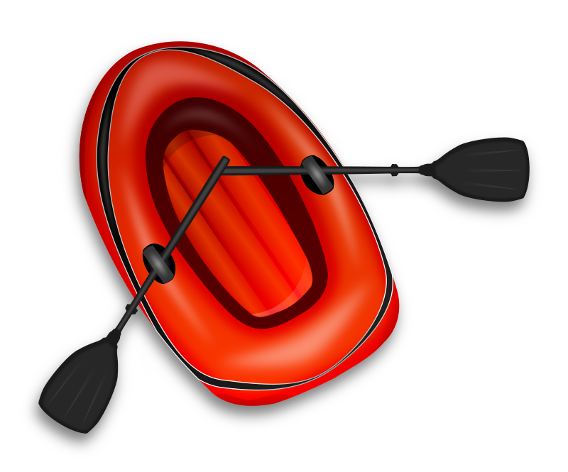 Boating clipart beach. Rubber boat medium image