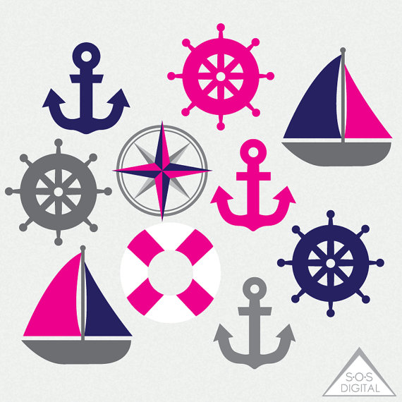 Pink nautical png sailboat. Boating clipart beach