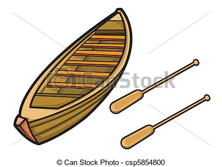 Boating clipart boart. Boat paddle pencil and