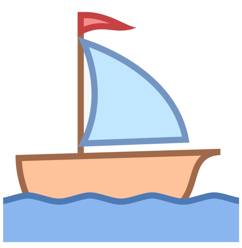 Sailboat sail boat clip. Boating clipart boart