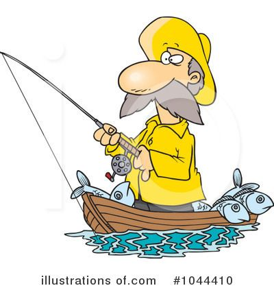 best ron leishman. Boating clipart boat man