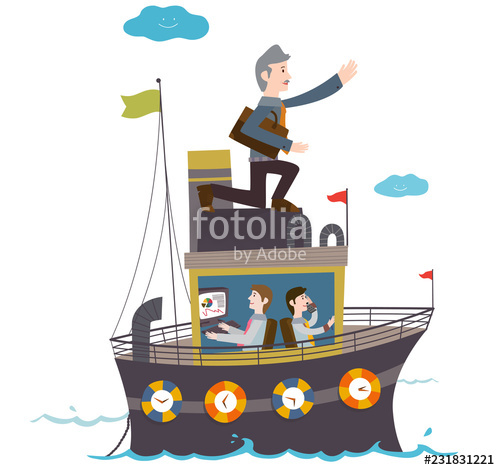 Boats and men stock. Boating clipart boat man