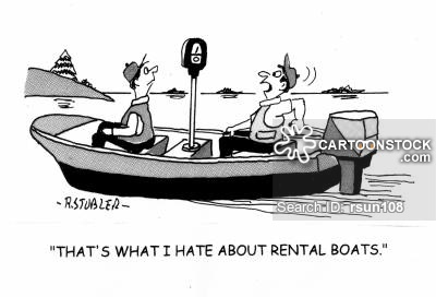 Rental cartoons and comics. Boating clipart boat ride