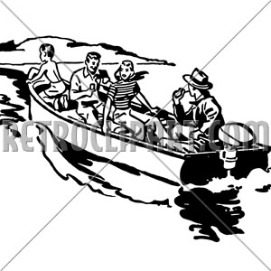 Boating clipart boat ride. Boats retroclipart com