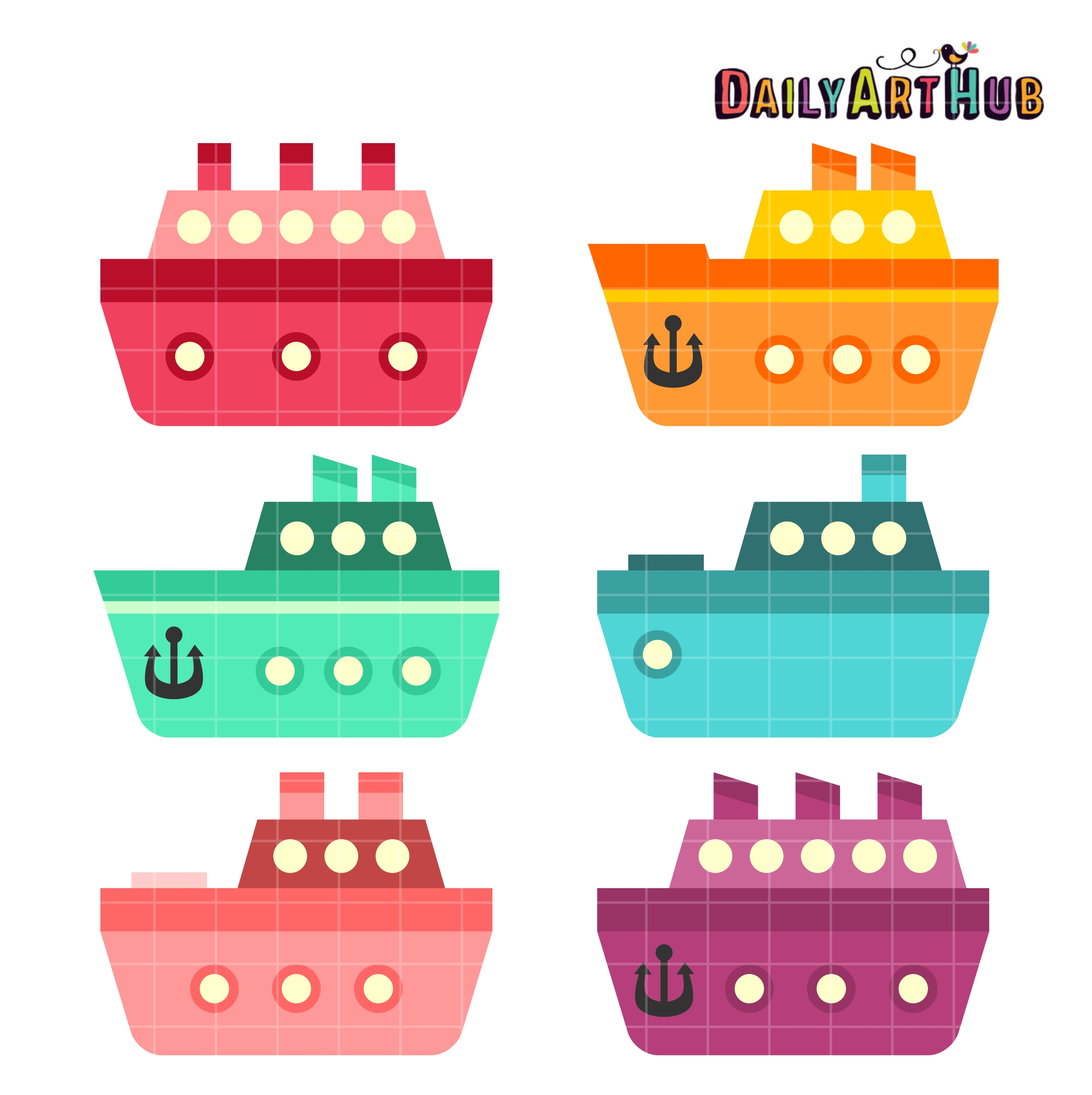 Boating clipart boat tour. Cute boats clip art