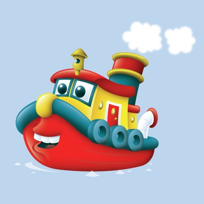 best images on. Boats clipart cartoon