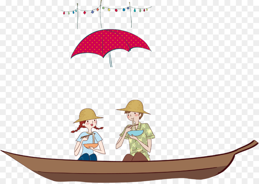 Boating clipart boy in boat. Illustration summer girl picnic