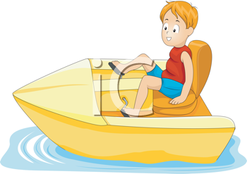 Iclipart royalty free image. Boating clipart boy in boat