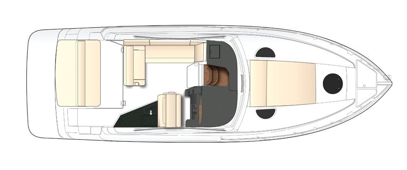boating clipart cabin cruiser