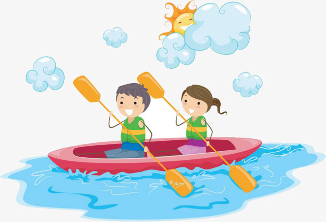 The children clouds png. Boating clipart child
